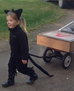 Cat and Mouse Homemade Costume
