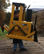 Cat Bull Dozer D8T Homemade Costume