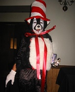 DIY Cat in the Hat Costume