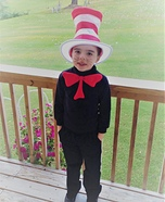 Cat in the Hat Homemade Costume