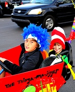 Cat in the Hat and Thing 1 and 2 Costumes