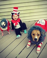 Cat in the Hat Crew Costume