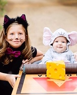 Cat & Mouse Homemade Costume