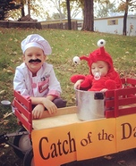 Catch of the Day Homemade Costume