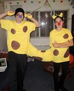 Homemade CatDog Costume