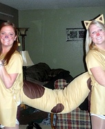 DIY CatDog Costume