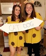 CatDog Homemade Costume
