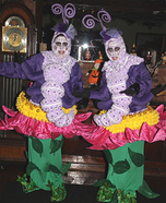 Caterpillars Sitting on Flowers Homemade Costumes