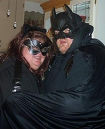 Catwoman and Batman Homemade Costume