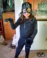 Catwoman Girl Homemade Costume