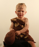Cave Baby Homemade Costume