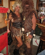 Cave Couple Costume