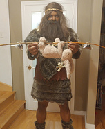 Cave Man Homemade Costume