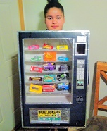 Cece's Vending Machine Homemade Costume
