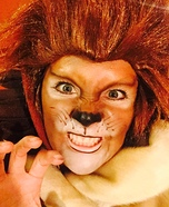 Cecil the Lion Homemade Costume