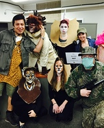 Cecil the Lion & The Hunter Homemade Costume