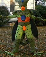 Cell from Dragon Ball Z Homemade Costume