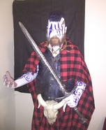 Celtic Warrior Homemade Costume