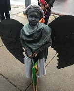 Cemetary Angel Statue Homemade Costume