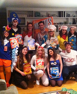 Cereal Character Mascots Homemade Costume