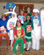 Group costume ideas - Cereal Characters Costume