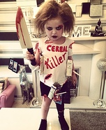 Cereal Killer Homemade Costume