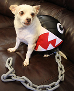 Chain Chomp Homemade Costume