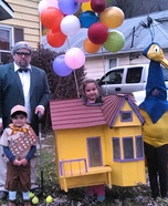 Characters from the movie Up Homemade Costume
