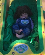 Charleigh the Cabbage Patch Baby Homemade Costume