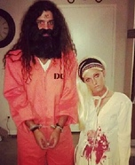 Charles Manson and Sharon Tate Couples Costume