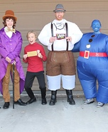 Charlie and the Chocolate Factory Characters Homemade Costume