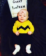 Charlie Brown Baby Halloween Costume