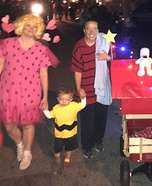 Charlie Brown and Friends Homemade Costume