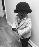 Charlie Chaplin Baby Homemade Costume