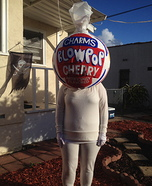 Charms Blow Pops Homemade Costume