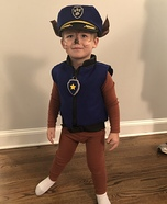 Chase is on the Case Homemade Costume