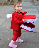 DIY baby costume ideas: Chattering Teeth Costume