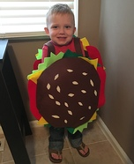 Cheeburber Homemade Costume