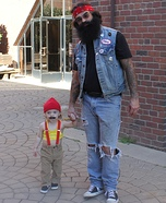 Parent and baby costume ideas - Cheech and Chong Halloween Costume