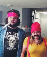 Coolest couples Halloween costumes - Cheech and Chong Costume