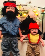 Cheech & Chong Homemade Costume