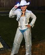 Cheeky Rhinestone Cowgirl Homemade Costume