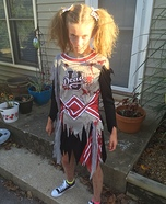 Cheerless Zombie Homemade Costume