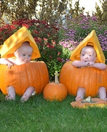Cheese Head Pumpkins Baby Costume