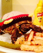 Cheese Tortoise in Paradise Homemade Costume