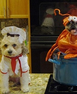 Chef and his Entree Dogs Costumes
