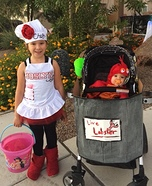 Chef and Lobster Homemade Costume