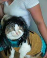 Cher Cat Homemade Costume