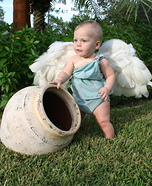 Homemade Cherub Costume for Babies