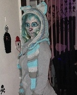 Cheshire Cat Homemade Costume